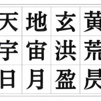 白澤太アンチック体:習作の記録