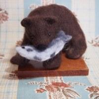 木彫りじゃない熊