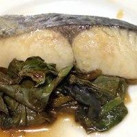 レンでチン! 糖質制限レシピ 「白身魚のポン酢煮」