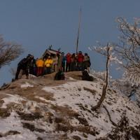 2017年の初登りは高見山【奈良県東吉野村】