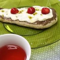 甘味・酸味・食味が勢揃い:ヌテラとパッションフルーツ・ヨーグルト