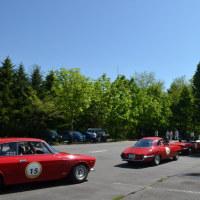 クラッシックカーと軽井沢の風物詩 ジーロ・デ・軽井沢  開催です