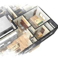 住まいの設計、暮らしのデザイン・・・収納計画と間取りの関係、場所の広さだけではなくて「整理整頓、片づけ」の為に解決すべき事を。