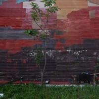 アートな壁面
