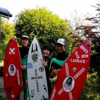 HAPPY SURF 最高やったね↑(^▽^)/ 癖🌊やったけど アクションぐりぐりでROCK'N RIDE YHAAA