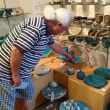 「西浦眞由美さんの陶房藍窯の作品」流山市加のギャラリーよしさんに行って来ました。