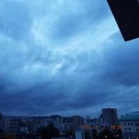 2016年09月02日(金曜日) 晴れ、間もなく、雲が増えていく。 (台風12号)。。