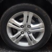 アルミホイール付きタイヤを購入