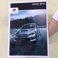 新型 WRX STI 発表
