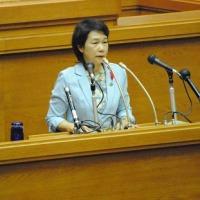 上村恭子県議の本会議質問