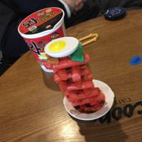釜山 西面・・「スクープ」 サインがいっぱいのパンケーキやさん