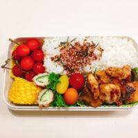 鶏肉とエリンギの照り焼きの お弁当