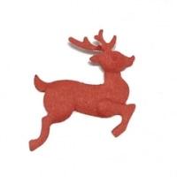 【クリスマス】クラフトパンチのトナカイとソリ<shopWA・ON>