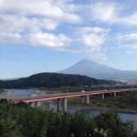 秋晴れ 富士山 CBR954RR