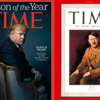 TimeのPerson of the Yearには、ヒトラーも一度選ばれている!