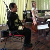 🌟オープニング演奏  Yesterday I played as a guest with Erhu and gu zheng
