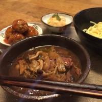 11月19日 夕飯…つけ麺