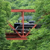赤い橋梁(磐西C57)