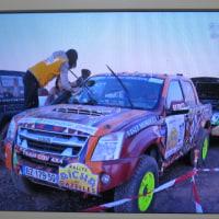 ガゼルラリー、ISUZUのピックアップトラック