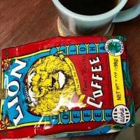 一杯のコーヒー。