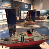 南極観測船「ふじ」を見てきました。