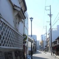 街中の秋・四間道の浅間神社