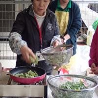 平成29年第1回目のモモンガクラブ「春の野草を食べる会」