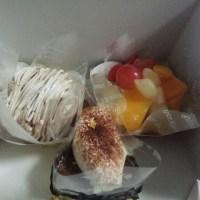 ケーキ・・いただき (*^^)v
