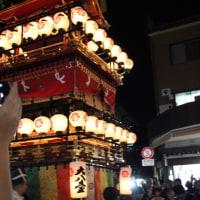 ぶらり旅・秋の高山祭(宵祭・大八台)(岐阜県高山市)