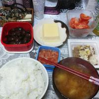 一人暮しの晩ご飯