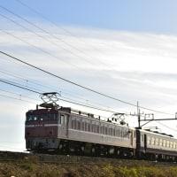 高崎線 EF60-19 & 東北本線 EF81-81 12系 送り込み回送列車!!