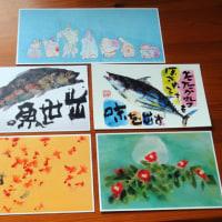 「鶴太郎・還暦記念」絵画展は全てが、「魯山人」もどきでした