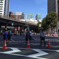 東京マラソン応援中…このくらい?