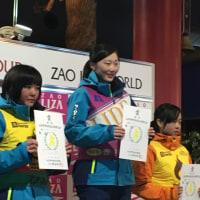 全国中学校スキー大会 山形県予選