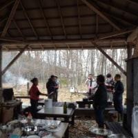 林の中のレストラン〜薪ストーブ料理講習会
