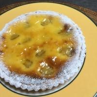バナナクリームチーズタルト