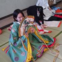 神奈川県立荏田高校装束体験