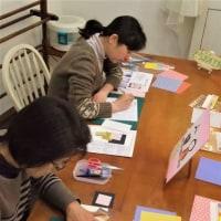 そらまめ工房 ペーパークラフト教室 2月10日(金)お教室の様子