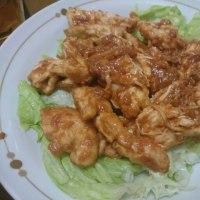 鶏の辛味噌焼き