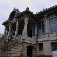 ●東京 銀座と築地 歌舞伎座 ビル街 築地本願寺など
