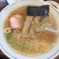 ラーメン+餃子@仙台「支那そば家」