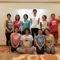 谷戸先生によるヨガを好きになる3日間の集中講座終了致しました!!