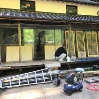 久米郡美咲町で住宅リノベーション工事現場も終盤戦