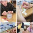 和紙を使ったキャンドルです!!