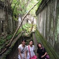 カンボジア 1日車チャーターして ベンメリアとトンレサップ湖クルーズと日本人ご家族旅