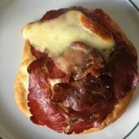 モッツァレラと生ハムの超おいしいパン