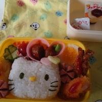 今日の幼稚園お弁当&昨日の晩御飯