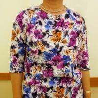 初級基本ドルマンスリーブTシャツ2種(カットソー生徒作品)