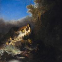 レンブラント(4) 「ベルセフォネの略奪」
