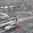 東村山でも雪が、、、